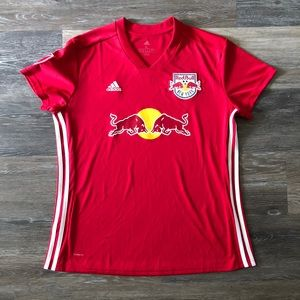 NEW YORK RED BULLS RED HOME JERSEY